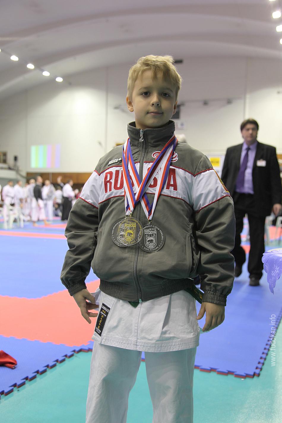 Юный каратист из Санкт-Петербурга стал Чемпионом Мира.